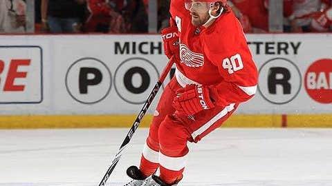 Henrik Zetterberg, LW; Detroit— 89 points