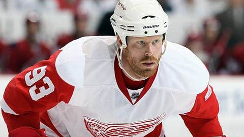 Johan Franzen, Detroit Red Wings