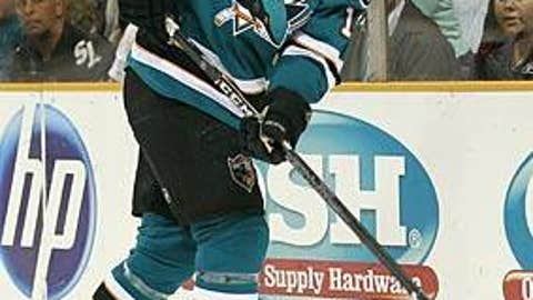 Joe Thornton, San Jose Sharks