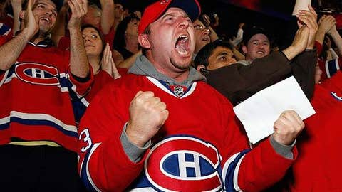 Happy Habs fan