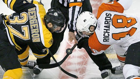 Bruins vs Flyers