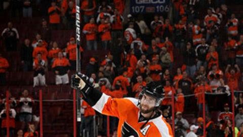 Simon Gagne, Philadelphia Flyers