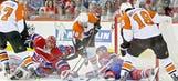 Saturday's NHL playoff gallery