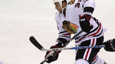 Dustin Byfuglien, Chicago Blackhawks