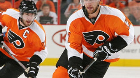 Jeff Carter, Philadelphia Flyers