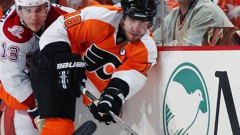 Mike Richards, Philadelphia Flyers