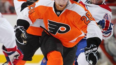 Claude Giroux, Philadelphia Flyers