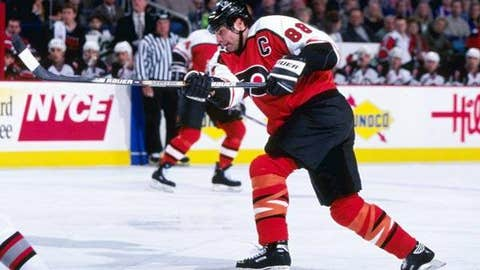 Eric Lindros, '96-97 Flyers, 26 points