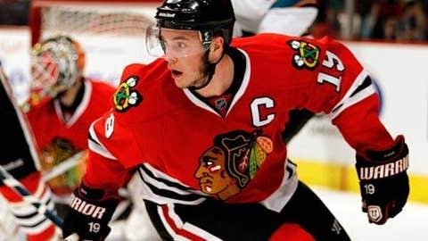 Jonathan Toews, 2009-10 Hawks, 26 points