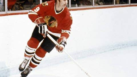 Bobby Hull, '70-71 Hawks, 25 points