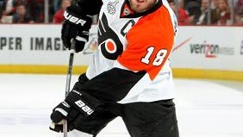 Flyers feisty forecheck