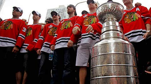 Blackhawks adjust to change