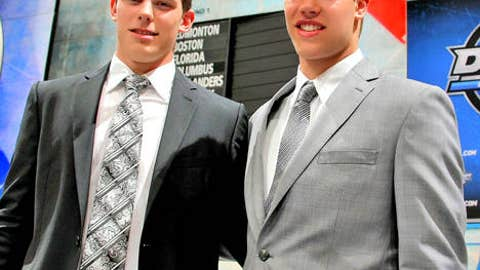 Tyler Seguin and Taylor Hall