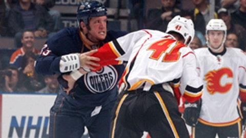 Steve MacIntyre, Edmonton Oilers