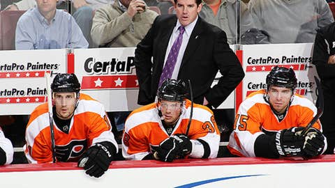 Peter Laviolette, Philadelphia Flyers
