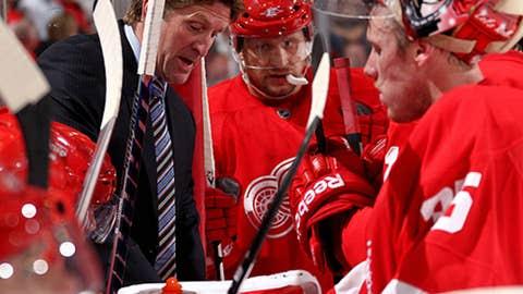 Mike Babcock, Detroit Red Wings