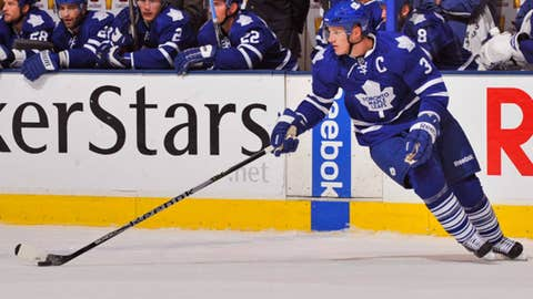 Phaneuf moves to T.O.