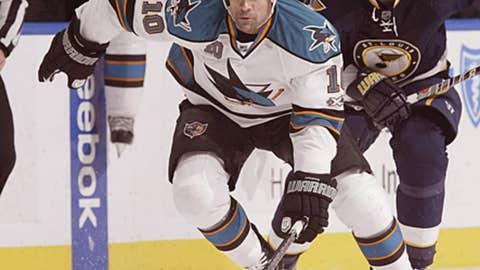 Jamal Mayers, San Jose Sharks