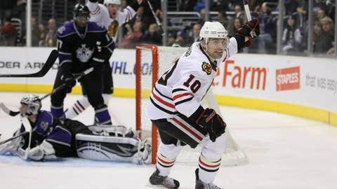 Patrick Sharp, F, Chicago Blackhawks