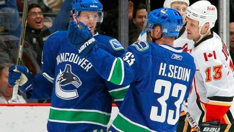 Daniel and Henrik Sedin, Vancouver Canucks