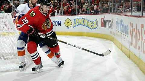 Jonathan Toews, F, Chicago Blackhawks