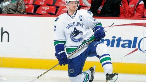 Henrik Sedin, F, Vancouver Canucks