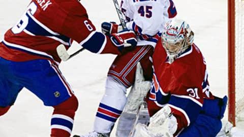Kris Newbury, New York Rangers