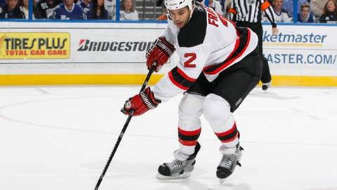 Mark Fraser, New Jersey Devils