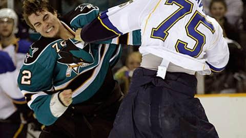 Brandon Mashinter vs. Ryan Reaves