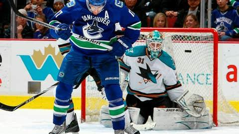 San Jose Sharks v Vancouver Canucks