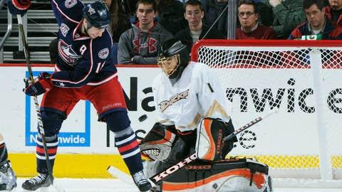 Jonas Hiller, G, Anaheim Ducks