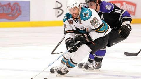 Dan Boyle, D, San Jose Sharks