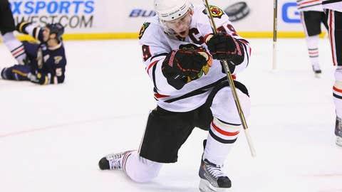 Jonathan Toews, F, Chicago Blackhawks