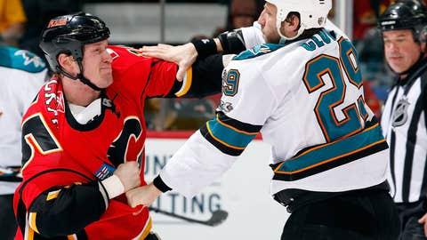 Tim Jackman vs. Ryane Clowe
