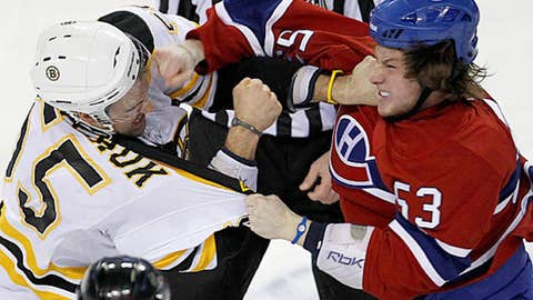 Ryan White vs. Johnny Boychuk