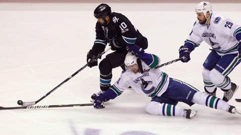 Vancouver Canucks San Jose Sharks