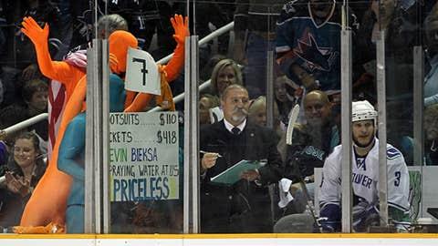 Orange and blue men?