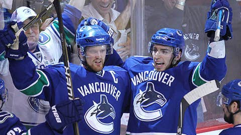 Burrows buries it