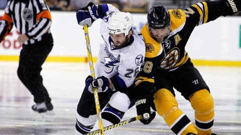 Tampa Bay Lightning Martin St. Louis Boston Bruins Mark Recchi