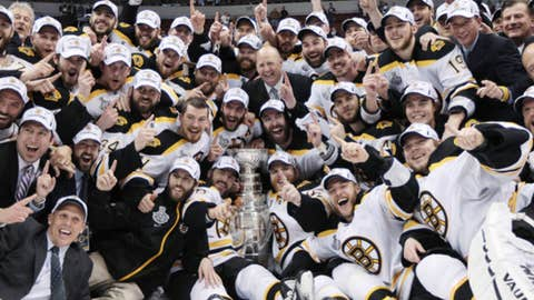 Boston Bruins (AP Photo/The Canadian Press, Jonathan Hayward)