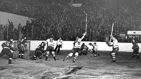 April 18, 1942: Maple Leafs 3, Red Wings 1