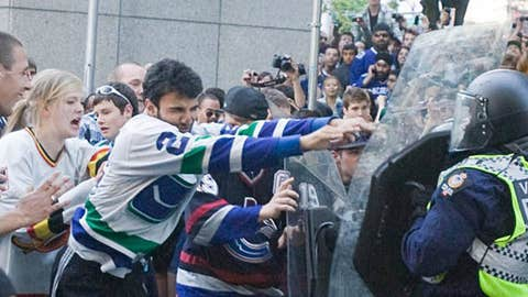 Stanley Cup Finals riot