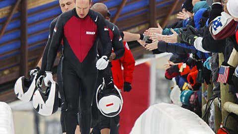 Prince Albert II of Monaco (bobsledding)