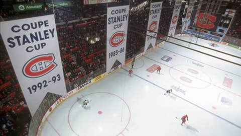 Montreal's 24 Stanley Cups