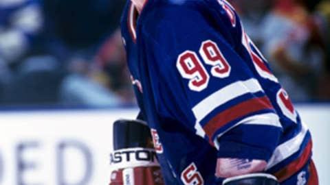 Wayne Gretzky's 2,857 career points