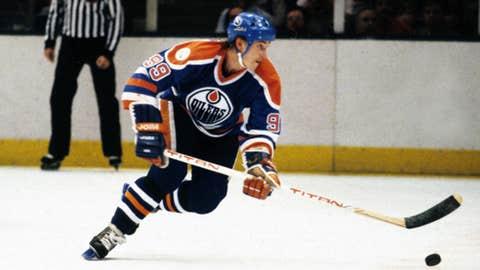 Wayne Gretzky's 215 points in a season