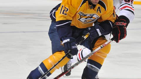 Mike Fisher: NHL Foundation Player Award