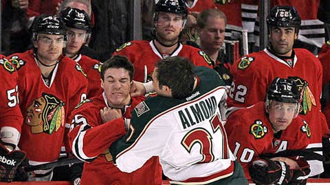 Chicago Blackhawks, Minnesota Wild