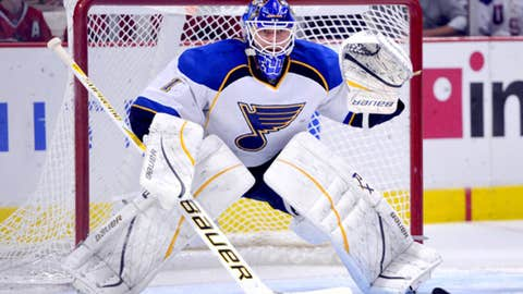St. Louis Blues' goalies