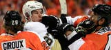 Penguins, Flyers duke it out